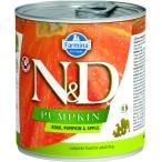 Корм Farmina N&D PUMPKIN, Boar & Apple (консерв.) для собак, кабан с тыквой и яблоком, 285 г