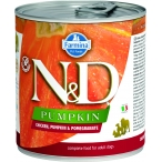 Корм Farmina N&D PUMPKIN, Chicken & Pomegranate (консерв.) для собак, курица с тыквой и гранат, 285 г