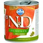 Корм Farmina N&D PUMPKIN Duck & Pumpkin (консерв.) для собак, утка с тыквой, 285 г