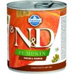 Корм Farmina N&D PUMPKIN Venison & Pumpkin (консерв.) для собак, оленина с тыквой, 285 г