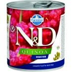 Корм Farmina N&D QUINOA Digestion (консерв.) для собак, помощь пищеварению, 285 г