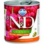 Корм Farmina N&D QUINOA Herring & Coconut (консерв.) для собак, сельдь с кокосом, 285 г