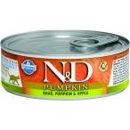Корм Farmina N&D PUMPKIN, Boar & Apple (консерв.) для кошек, кабан с тыквой и яблоком, 80 г