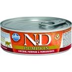 Корм Farmina N&D PUMPKIN, Chicken & Pomegranate (консерв.) для кошек, курица с тыквой и гранатом, 80 г