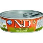 Корм Farmina N&D PUMPKIN Duck & Pumpkin (консерв.) для кошек, утка с тыквой, 80 г