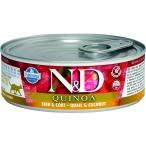 Корм Farmina N&D QUINOA Quail & Coconut (консерв.) для кошек, перепел с кокосом, 80 г