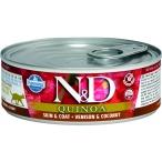 Корм Farmina N&D QUINOA Venison & Coconut (консерв.) для кошек, оленина с кокосом, 80 г