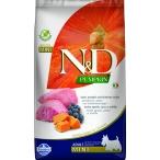 Корм Farmina N&D PUMPKIN Lamb & Blueberry Adult Mini беззерновой для взрослых собак мелких пород, ягненок с черникой и тыквой, 2,5 кг