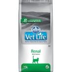 Корм Farmina Vet Life Renal для кошек при заболеваниях почек, 2 кг