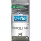 Корм Farmina Vet Life Neutered (1-10 кг) для стерилизованных собак, 10 кг