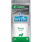 Корм Farmina Vet Life Renal для собак при заболеваниях почек, 12 кг