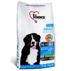 Корм 1st Choice Medium&Large Breeds для собак средних и крупных пород, курица, 7 кг