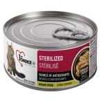 Корм 1st Choice Sterilized для стерилизованных кошек, беззерновой, курица с сардинами, 85 г