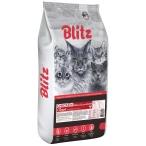 Корм Blitz Classic Chicken для кошек, с курицей, 10 кг