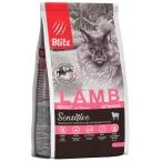 Корм Blitz Sensitive Lamb для кошек, с ягненком, 400 г