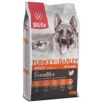 Корм Blitz Sensitive Turkey & Barley для собак, с индейкой и ячменем, 2 кг