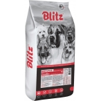 Корм Blitz Sensitive Beef & Rice для собак, говядина и рис, 15 кг