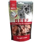 Лакомство Blitz Beef БЫЧИЙ СТЕЙК для собак, 55 г