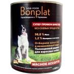 Корм Bonplat Meat для собак, мясное ассорти, 800 г