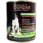 Корм Bonplat Meat&Vegetabel для собак, овощное рагу с мясом, 800 г