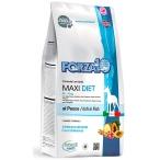Корм Forza10 Diet Maxi (гипоаллергенный) для собак крупных пород при пищевой аллергии, с рыбой (с микрокапсулами), 12 кг