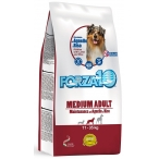 Корм Forza10 Maintenance Medium Adult для собак средних пород, с ягненком и рисом, 12.5 кг