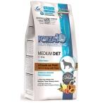 Корм Forza10 Diet Medium (гипоаллергенный) для собак средних пород при пищевой аллергии, конина и горох (с микрокапсулами), 1,5 кг