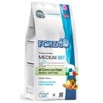 Корм Forza10 Diet Medium (гипоаллергенный) для собак средних пород при пищевой аллергии, с олениной и картофелем (с микрокапсулами), 12 кг