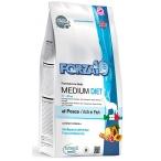 Корм Forza10 Diet Medium (гипоаллергенный) для собак средних пород при пищевой аллергии, с рыбой (с микрокапсулами), 12 кг
