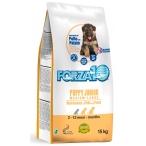 Корм Forza10 Maintenance Puppy/Junior Medium/Large для щенков средних и крупных пород, с курицей и картофелем, 15 кг