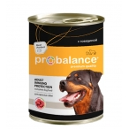 Корм ProBalance Adult Immuno Protection (консерв.) для собак с говядиной, 850 г