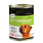 Корм ProBalance Sensitive (консерв.) для собак с чувствительным пищеварением с ягненком, 850 г