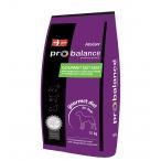 Корм ProBalance Gourmet Diet Adult для собак привередливых к еде говядина и кролик, 15 кг