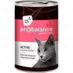 Корм ProBalance Active (консерв.) для активных кошек, 415 г