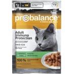 Корм ProBalance Immuno Protection (в соусе) для кошек c кроликом, 85 г