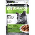 Корм ProBalance Sensitive (консерв.) для кошек с чувствительным пищеварением, 85 г