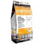 Корм ProBalance Immuno Protection для взрослых кошек с курицей и индейкой, 10 кг