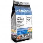 Корм ProBalance Sterilized для стерилизованных кошек с курицей, 10 кг