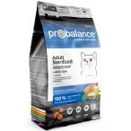 Корм ProBalance Sterilized для стерилизованных кошек с курицей, 1,8 кг