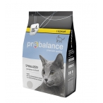 Корм ProBalance Sterilized для стерилизованных кошек с курицей, 400 г