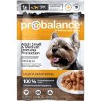Корм ProBalance Immuno Adult Small & Medium (консерв.) для собак малых и средних пород, 100 г