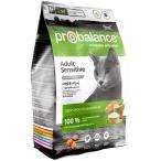 Корм ProBalance Sensitive для кошек с чувствительным пищеварением с курицей и рисом, 400 г