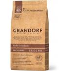 Корм Grandorf Adult All Breeds для собак всех пород (беззерновой), утка с картофелем, 1 кг