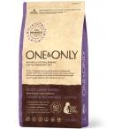 Корм One&Only Adult Large Breeds (Monoprotein) для собак крупных пород, с ПРОБИОТИКАМИ, индейка с рисом, 3 кг