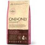 Корм One&Only Puppy All Breeds (Monoprotein) для щенков всех пород от 3 недель, беременных и кормящих сук, с ПРОБИОТИКАМИ, индейка с рисом, 12 кг