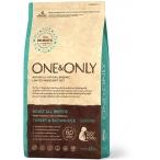 Корм One&Only Adult All Breeds (Monoprotein) для собак всех пород, с ПРОБИОТИКАМИ, индейка с рисом, 1 кг