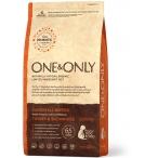 Корм One&Only Junior All Breeds (Monoprotein) для щенков всех пород от 4 месяцев, беременных и кормящих сук, с ПРОБИОТИКАМИ, индейка с рисом, 1 кг