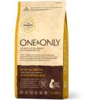 Корм One&Only Adult All Breeds для собак всех пород, с ПРОБИОТИКАМИ, утка с рисом, 1 кг