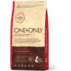 Корм One&Only Adult All Breeds для собак всех пород, с ПРОБИОТИКАМИ, ягненок с рисом, 1 кг