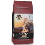 Корм Landor Indoor Cat для кошек, живущих в помещении, утка с рисом, 2 кг